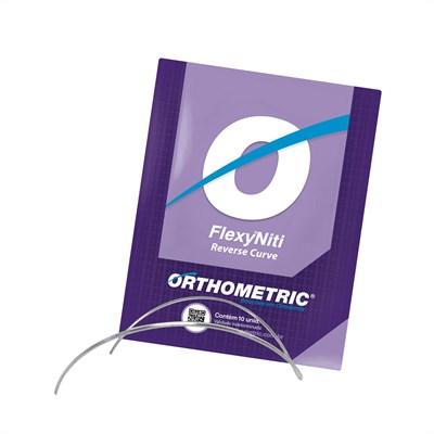 Arco Flexy Niti Curva Reversa Retangular - Orthometric