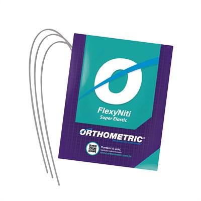 Arco Flexy NiTi Superelástico Quadrado - Orthometric