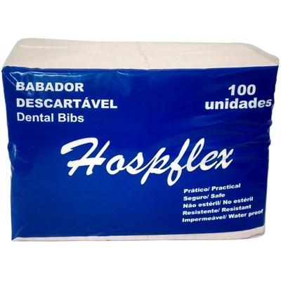 Babador Impermeável Descartável - Hospflex
