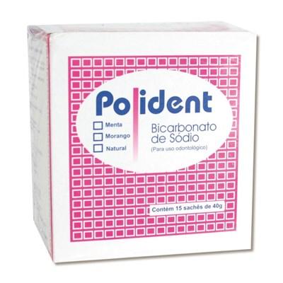 Bicarbonato de Sódio Polident Sachê - Polidental