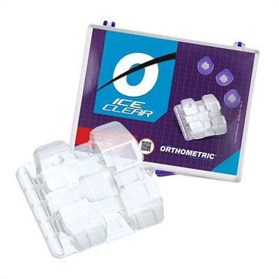 Bráquete Cerâmico Ice Clear Roth 022 Kit - Orthometric