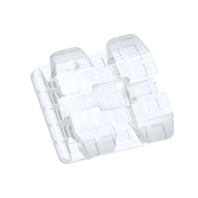 Bráquete Cerâmico Ice Clear Roth 022 - Orthometric