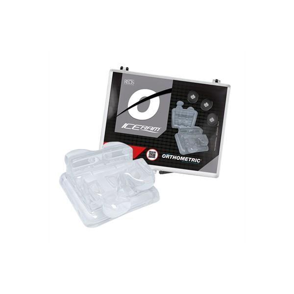 Bráquete Cerâmico Iceram Roth 022 Kit 1 Caso - Orthometric