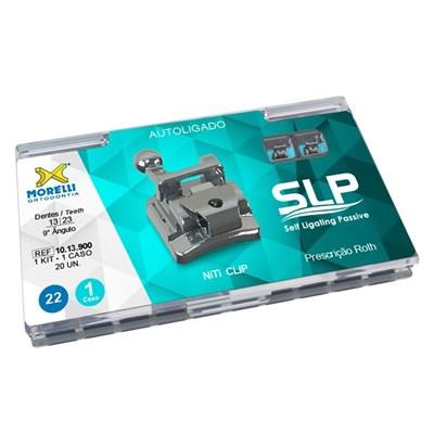 Bráquete de Aço Autoligado SLP Roth 022 Kit - Morelli