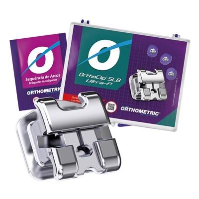 Bráquete de Aço Autoligado Ultra-P Roth 022 Kit 1 Caso - Orthometric