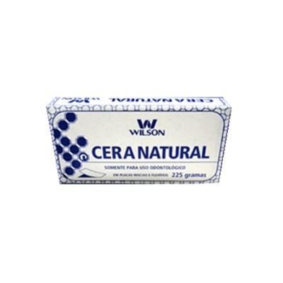 Cera Natural Branca Wilson - Polidental