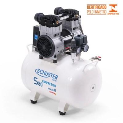 Compressor de Ar S50 43L 2,0HP - Schuster
