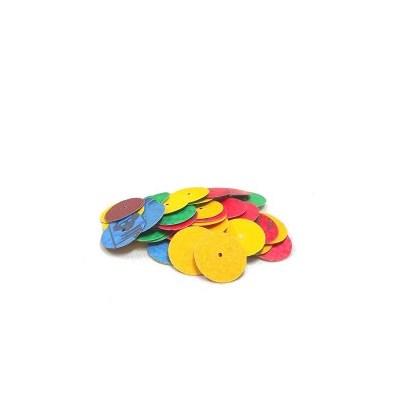 Disco de Lixa Colorido - Microdont