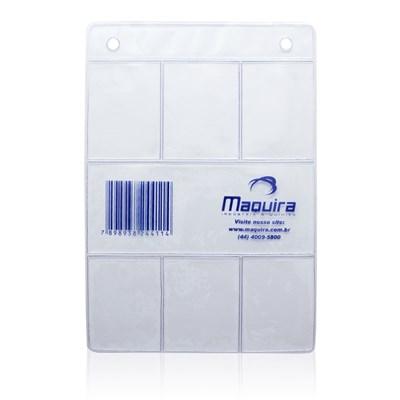 Ficha para Raio X Plástica 6 Furos - Maquira
