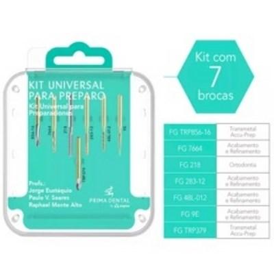 Kit Broca Universal para Preparo - Angelus Prima Dental