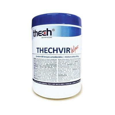 Lenço Umedecido Thechvir Wipes - Thech