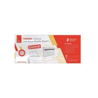 Lima K-File Kit com 4 Grátis 2 Guta ISO Calibrada Maillefer - Dentsply