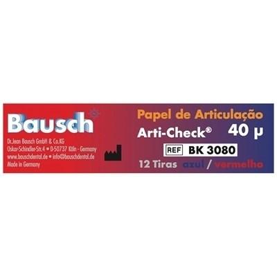Papel Carbono Arti-Check 40 Micras BK 3080 - Bausch