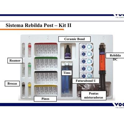 Pino de Fibra de Vidro Rebilda Post Kit - Voco
