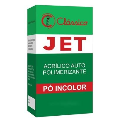 Resina Acrílica Autopolimerizável Jet Pó 220g - Clássico