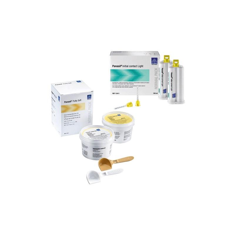 Silicone de Adição Panasil Putty Soft + Fluido Light - Ultradent